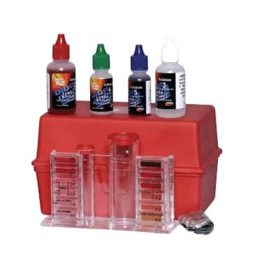 Blue Devil 4 in 1 Pool Test Kit